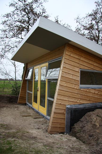 Nieuwbouw tuinhuis timmer en afbouwbedrijf p bakker - Ontwerp tuinhuis ...